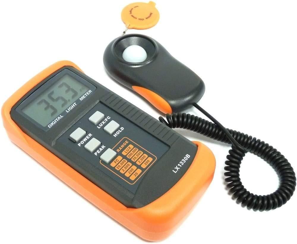 Cablematic - Luxómetro digital LX1330B