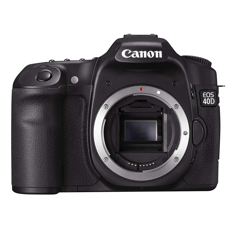 Canon EOS 40D - Cámara Réflex Digital 10.5 MP (Cuerpo) (Reacondicionado Certificado)