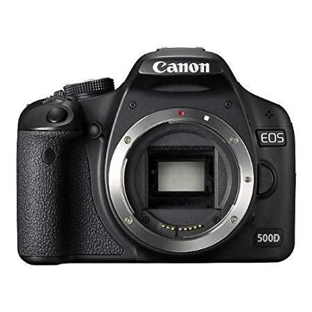 Canon EOS 500D - Cámara Réflex Digital 15.1 MP (Cuerpo) (Reacondicionado Certificado)