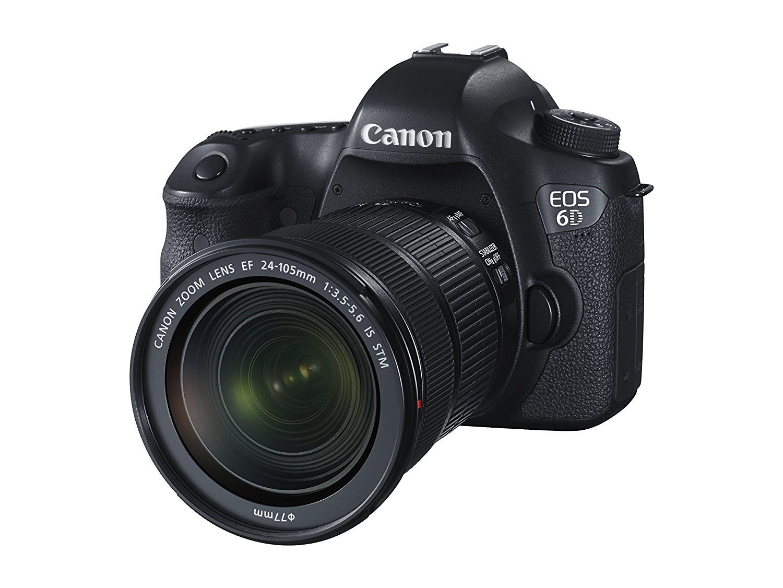 Canon EOS 6D 24-105/3.5-5.6 EF IS STM - Cámara Digital