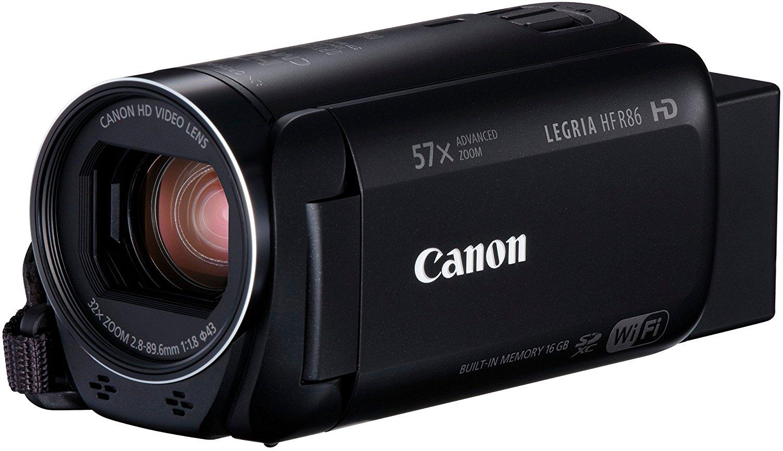 """Canon LEGRIA HF R86 - Videocámara (3,28 MP, CMOS, 25,4/4,85 mm (1/4.85""""), 2,07 MP, 2,07 MP, 32x)"""