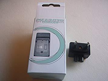 Cargador de Batería para Fujifilm FinePix JV100 Finepix JV1004 Finepix JV105 Finepix JV110 Finepix JV150 Finepix JV155 Fotografía Digital Cámara Cámaras de Video Set de 2 1 x Cargador de Batería + 1 x Reino Unido AC Enchufe