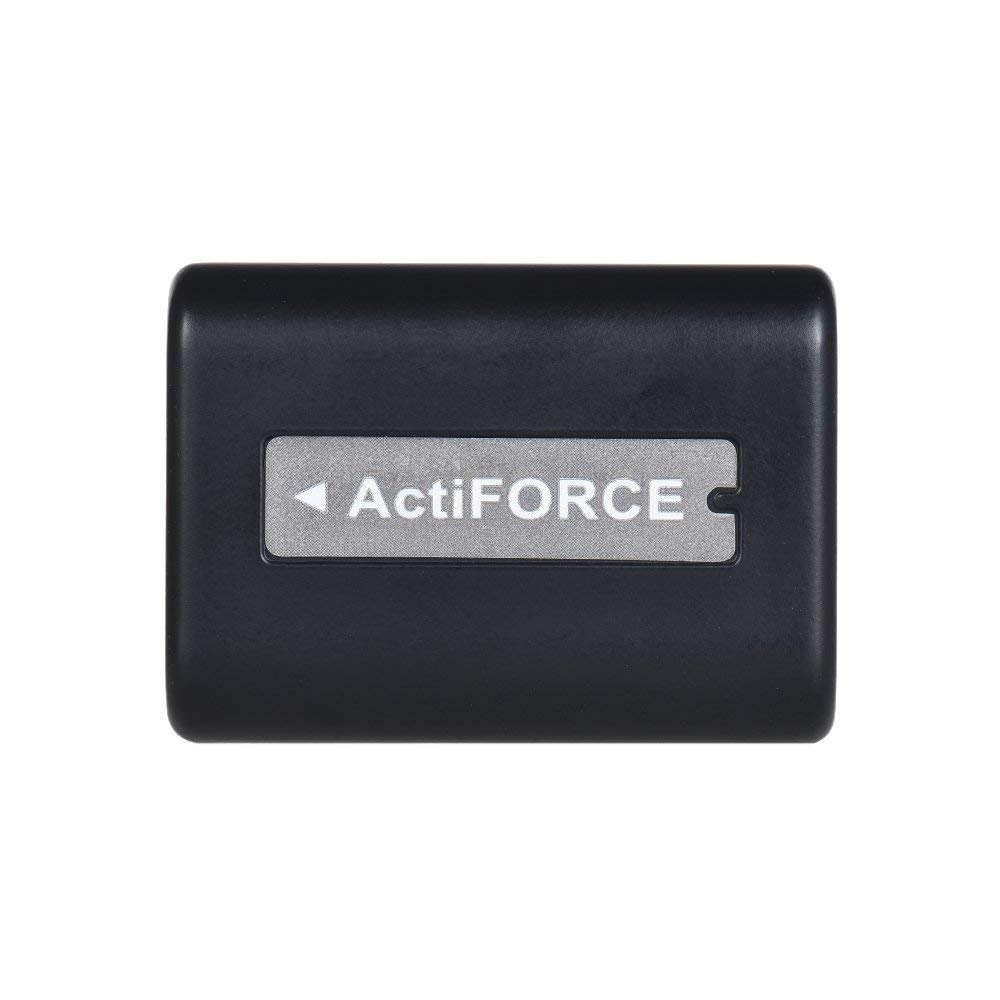 Docooler NP-FV5 Plus Battery Pack 3.7V 2500mAh Batería Recargable para Andoer 524KM 4K WiFi 1080P Cámara de Vídeo Digital para Sony DV