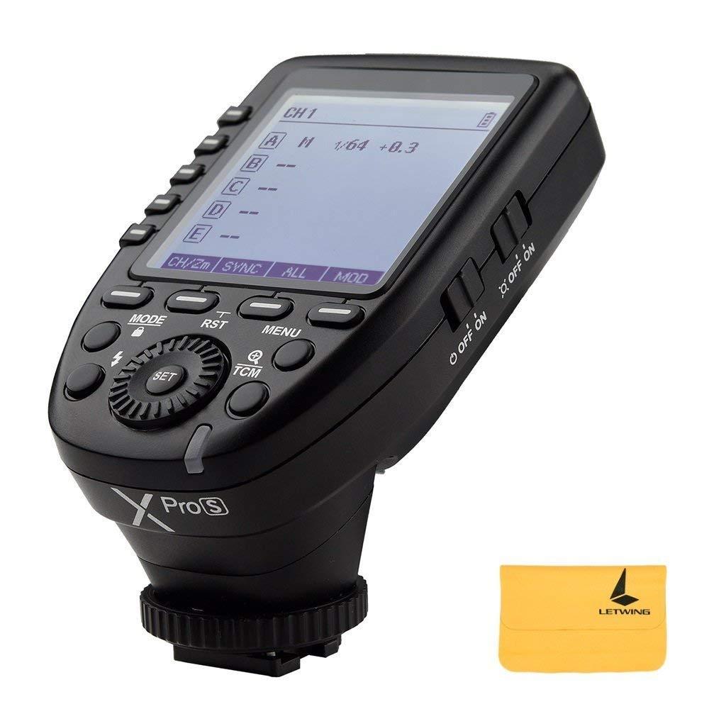 Godox xpro-s 2,4 G inalámbrico TTL sincronización de alta velocidad 1/8000s disparador de flash transmisor sistema de X disparador de alta velocidad para Sony Cámaras