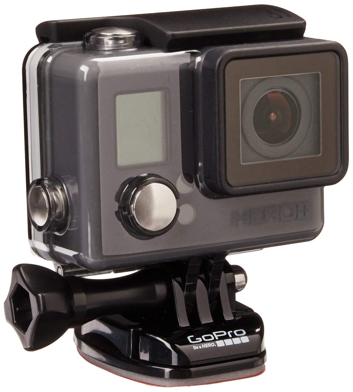 GoPro HERO+ - Videocámara deportiva (sumergible hasta 40 m)