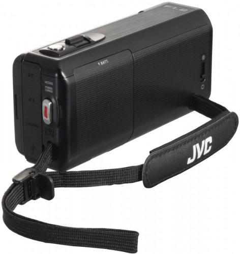 JVC GZ-VX815BEK - portátil videocámara Full HD, SDXC, zoom óptico de 10x, 200x zoom digital, el panel táctil LCD de 3 '', Color Negro