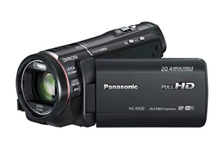 """Panasonic HC-X920EG-K - Videocámara (pantalla de 3.5"""", zoom óptico 12x con estabilizador de imagen), color negro"""