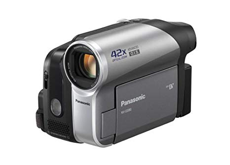 "Panasonic NV-GS90 MiniDV Tape Camera - Videocámara (0.8 MP, CCD, 1/0.236 mm (1/6""), 42 x, 1.8-75.6 mm, 34.5-1449 mm) Plata"