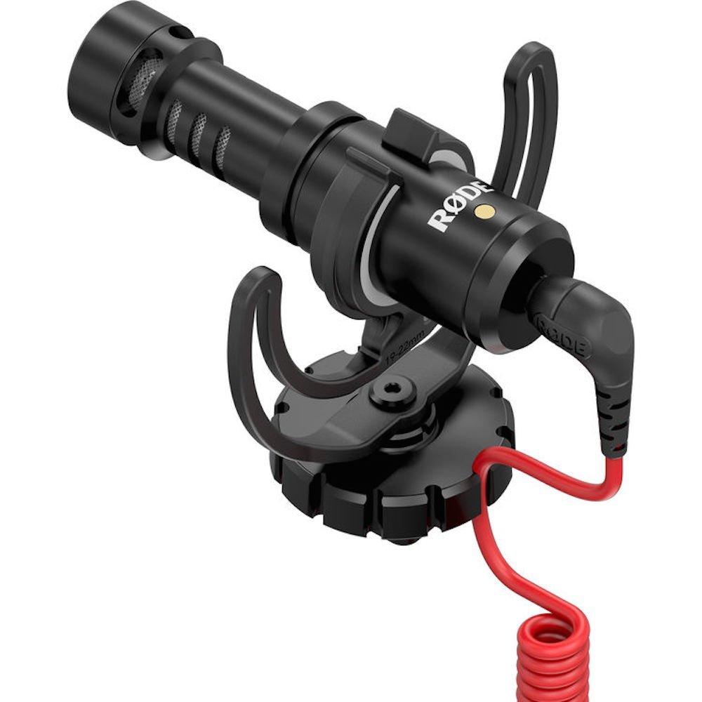 Rode VideoMicro - Micrófono para cámaras DSLR, color negro
