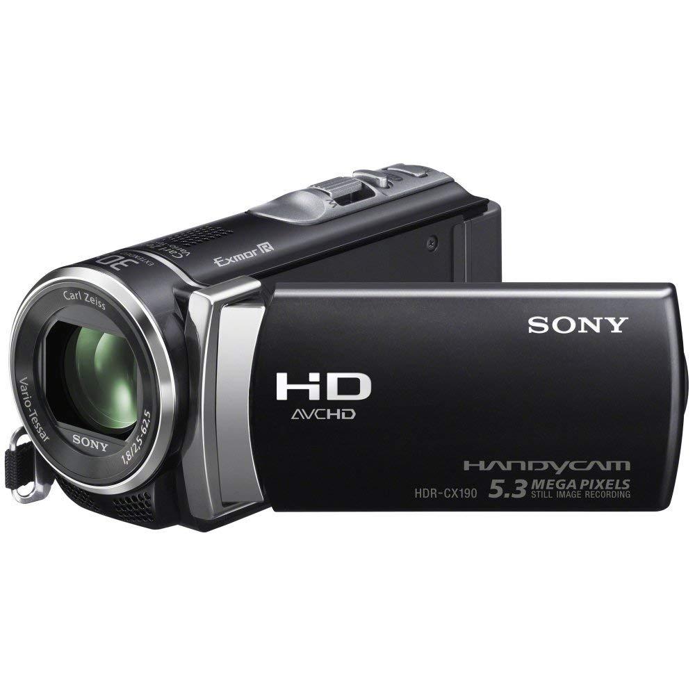 Sony HDRCX190EB - Videocámara HD Flash (pantalla de 2.7 pulgadas) (importado)