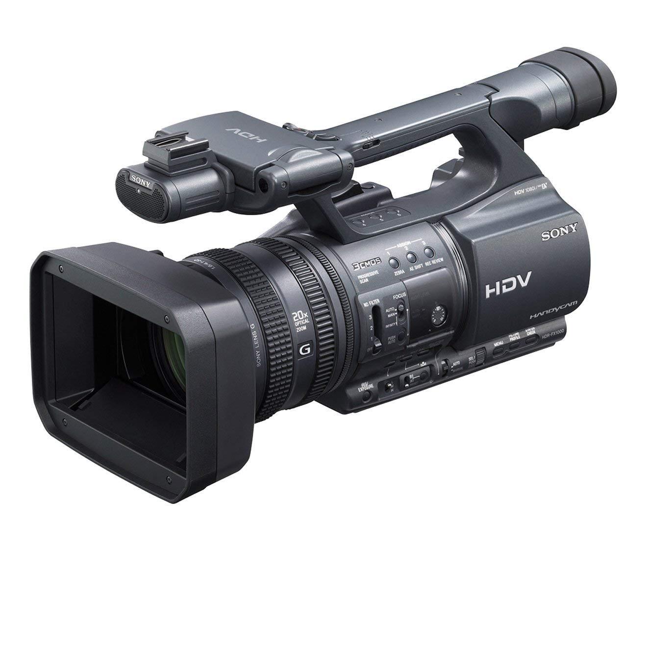 Sony HDRFX1000E - Videocámara semi profesional (pantalla de 3.2 pulgadas)