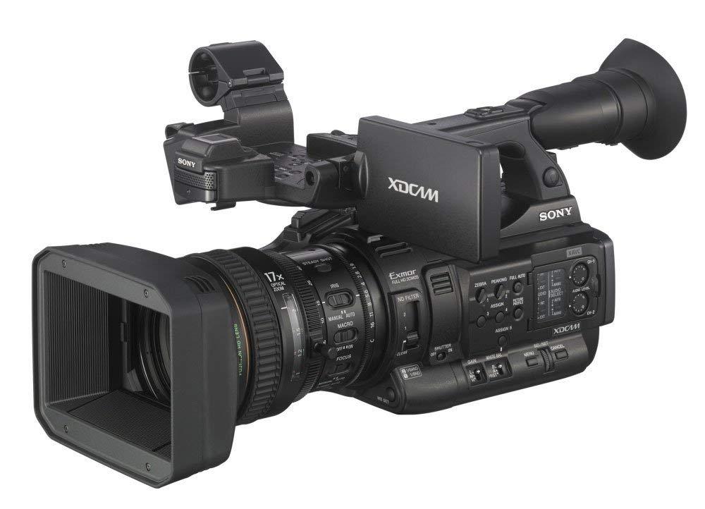 "Sony PXW-X200 Shoulder Camcorder CMOS Full HD Negro Soporte de - Videocámara (CMOS, 25,4/2 mm (1/2""), 17x, 5,6-95,2 mm, 29,3-499 mm, 7,7 cm)"