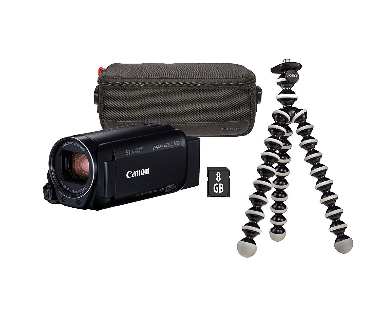 Videocámara Canon Legria Hf R86(3,28megapíxeles) Negra