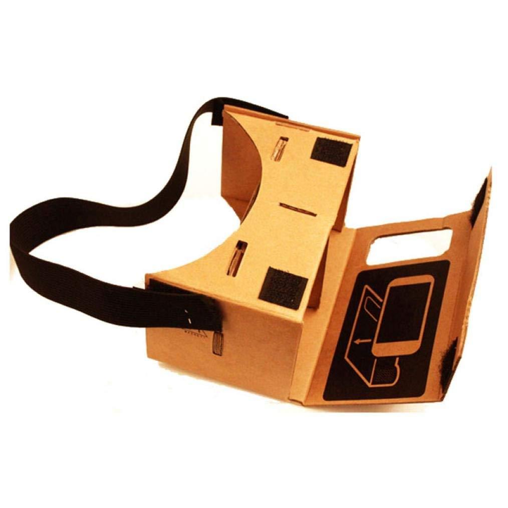 Amison Nuevo Google Cartón Valencia Calidad VR 3D gafas de realidad virtual con una Correa para cabeza