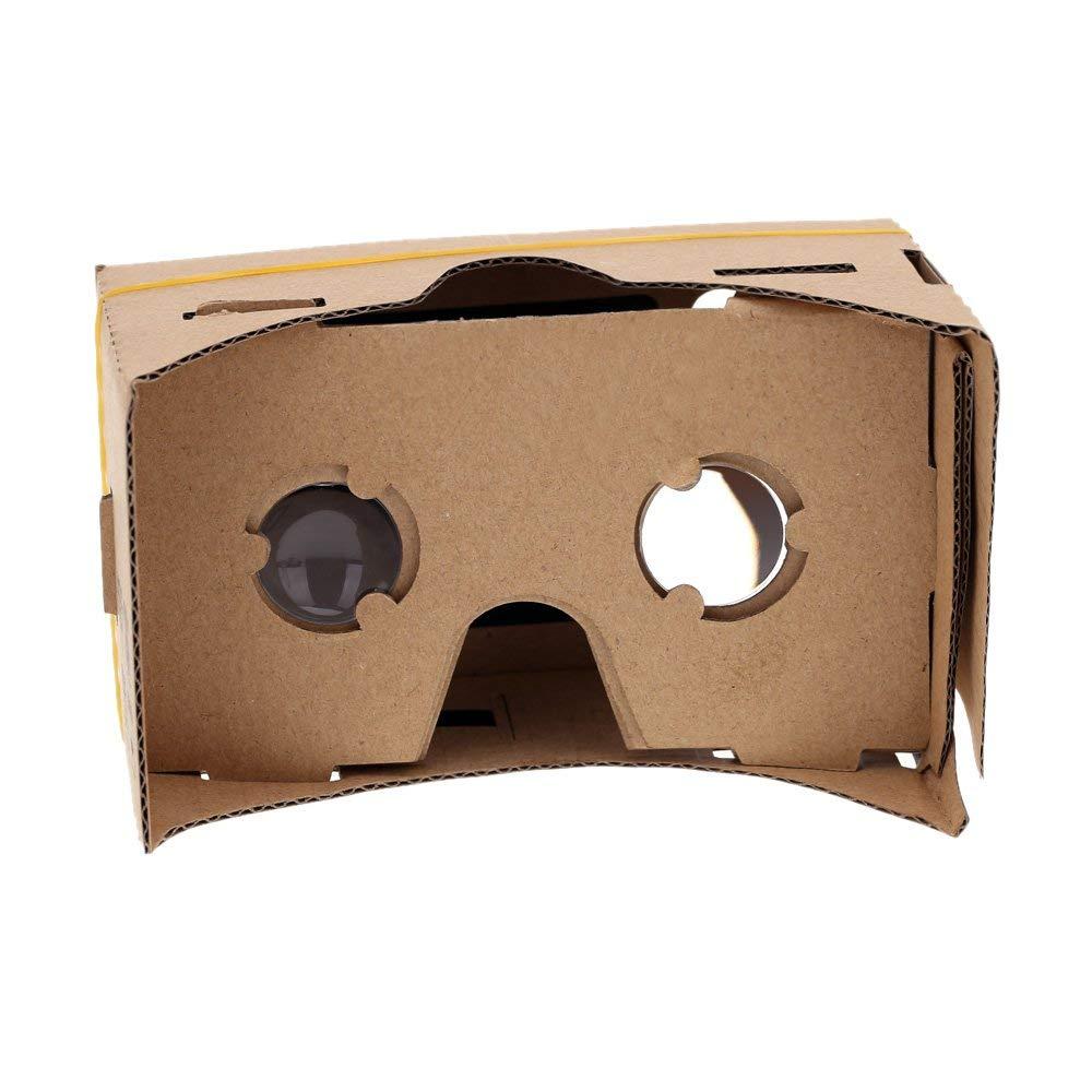 "Andoer® DIY Google Cartón Gafas 3D con NFC Tag Realidad Virtual VR Teléfono Móvil para 5,0 ""Pantalla"