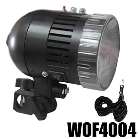 Antorcha Flash de Estudio Fotografico DynaSun WOF4004 Lampara 80W E27 con Fotocélula e Cable Synch
