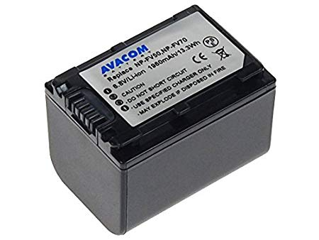 AVACOM VISO-FV70-142N2 de Batería para cámara de vídeo