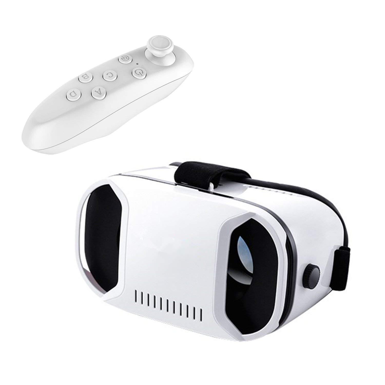 bevifi 3d gafas de realidad virtual/Virtual Reality headset con mando a distancia para Android Samsung Galaxy S7Edge/S7/S6/S5, iOS iPhone 7/6/6S Plus/se y todos los demás smartphones [4.0–6.1inch]