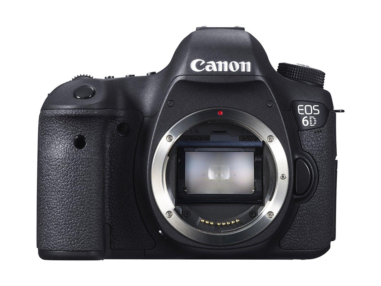 "Canon EOS 6D - Cámara reflex digital DSLR (Full Frame CMOS, 20.2 Mp, LCD 3'2"")"
