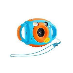 Cámara para niños Cámara de Video Digital para niños con Funda Protectora de Silicona Suave Accesorios para videocámaras de Videojuegos para niños