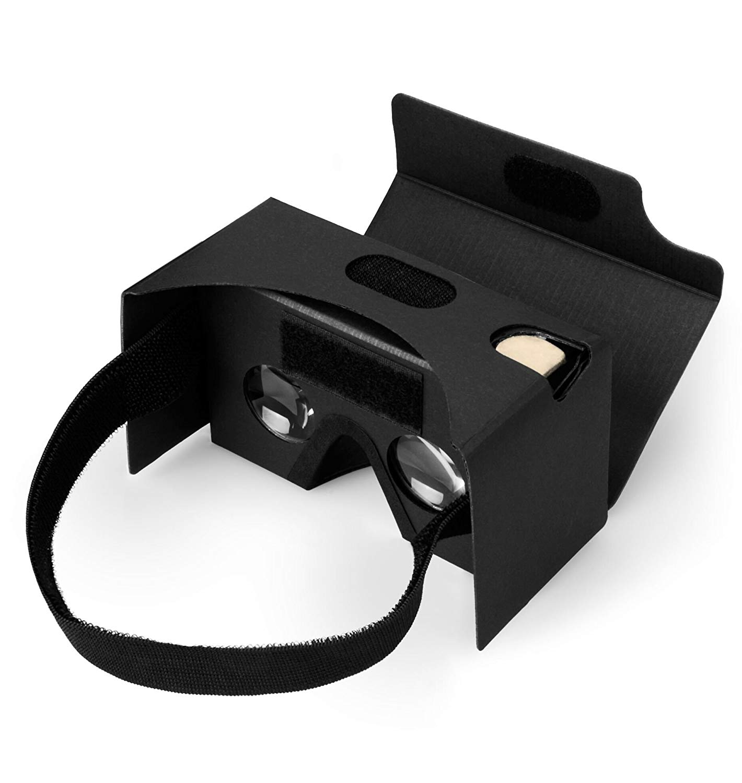 Gafas de cartón Splaks, más claras y cómodas de 3D, realidad virtual VR, kit con almohadilla de nariz y cinta para la cabeza, para dispositivos Android e iOS