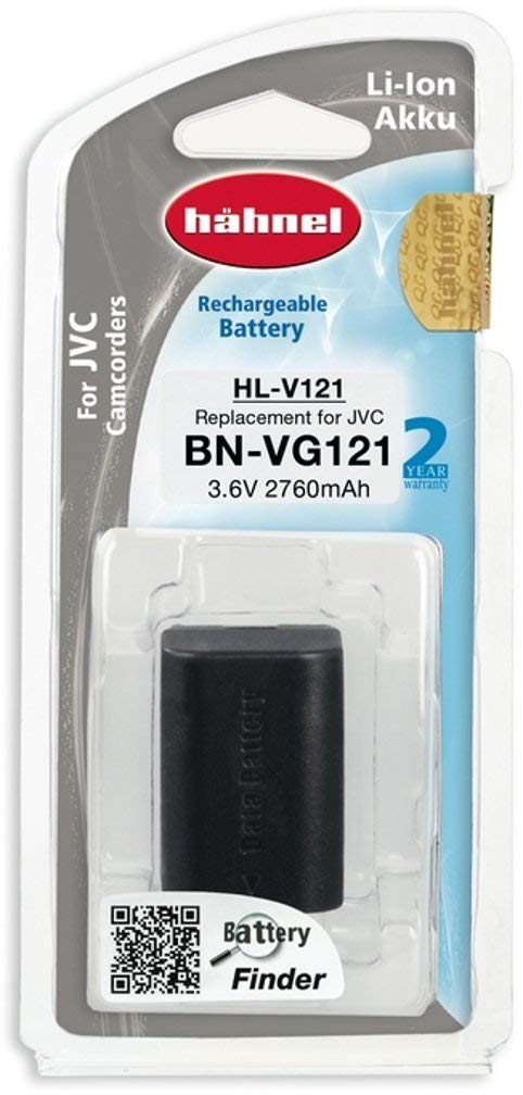 Hahnel HL-V108 - Batería de recambio para cámaras de vídeo JVC (ion-litio, 3,6 V)