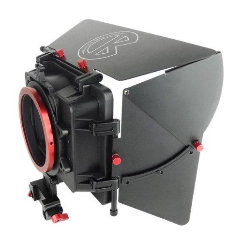 "Kamerar MAX-1 - Parasol para objetivos (4"" x 4""), negro"