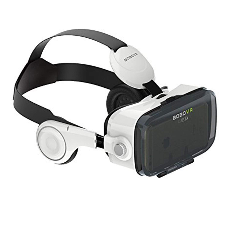 Morjava BoBo VR Z4 3D VR GLASS Montaje de cabeza Virtual Reality Gafas 3D para 4 ~ 6 '' Android iOS Smartphones Películas 3D Google Cartón