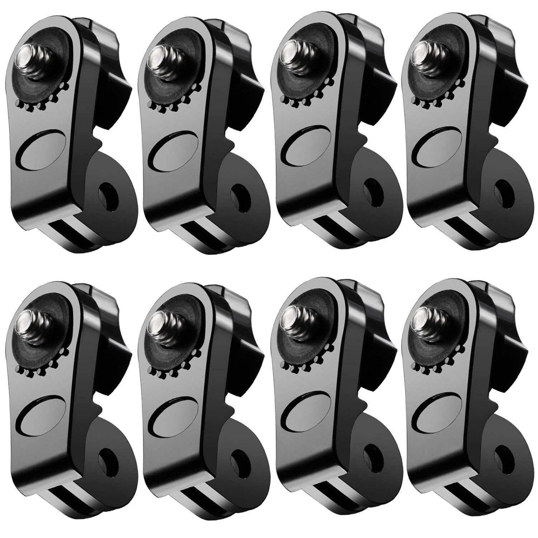 Neewer universal de adaptador de conector (1/4pulgadas, 20) Mini de trípode Tornillos Gopro Accesorios de montaje a XIAOMI Yi de deportes de cámara, Sony, Olympus y otras cámaras de acción (8unidades)