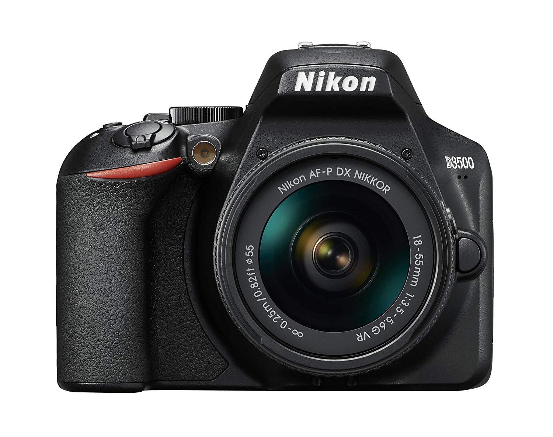 Nikon D3500 Juego de cámara SLR 24.2MP CMOS 6000 x 4000Pixeles Negro - Cámara Digital (24,2 MP, 6000 x 4000 Pixeles, CMOS, Full HD, 365 g, Negro)