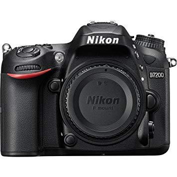 Nikon D7200 Cuerpo de la cámara SLR 24.2MP CMOS 6000 x 4000Pixeles Negro - Cámara digital (24,2 MP, 6000 x 4000 Pixeles, CMOS, Full HD, 675 g, Negro)