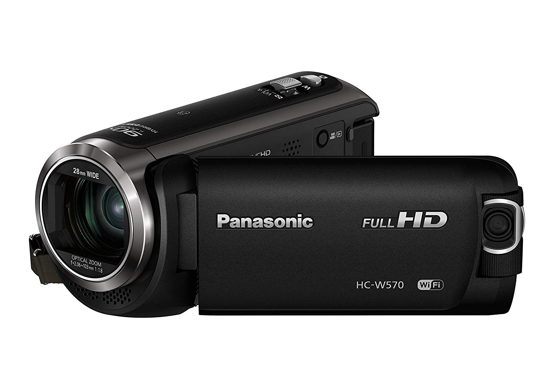 "Panasonic HC-W570EG-K - Videocámara (Pantalla de 3"", Zoom óptico 50x, estabilizador), Negro"