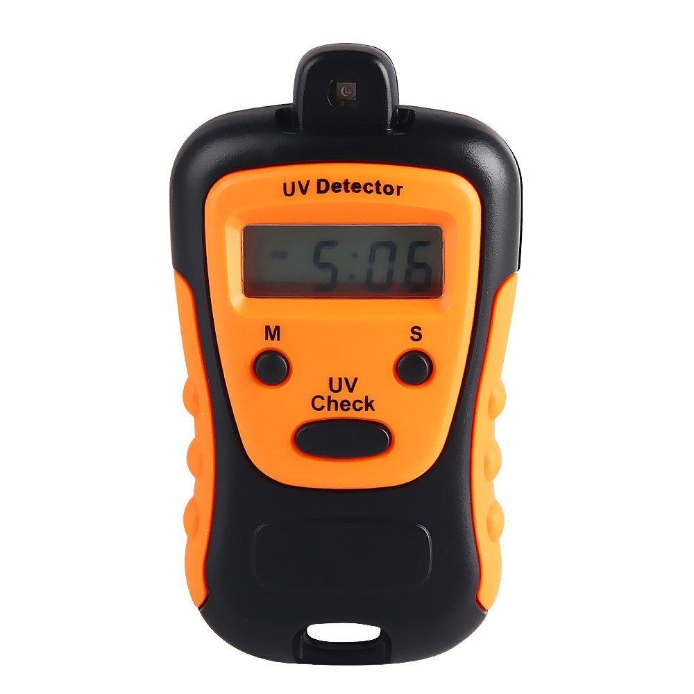 Prueba de resistencia UV de alta precisión, medidor de rayos UV, detector de rayos UV, luz LCD de mano, ampliamente utilizado en la escuela, familia, deportes al aire libre, etc.