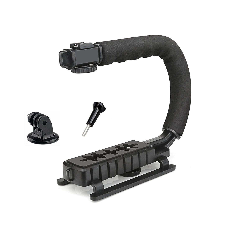 SHOOT C-Grip Estabilizador Handle Grip Soporte para GoPro Nikon Canon Sony SJCAM Xiaomi Yi DSLR cámara videocámara
