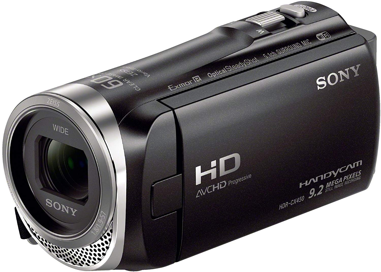 "Sony HDR-CX450 - Videocámara (2,29 MP, CMOS, 25,4/5,8 mm (1/5.8""), 2,29 MP, 2,29 MP, 30x)"