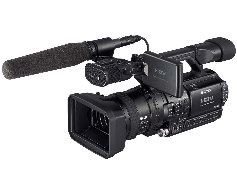 "Sony HVR-Z1E CCD Negro soporte de - Videocámara (CCD, 25,4/3 mm (1/3""), 12x, 7,2 cm, HDV, 8,89 cm (3.5""))"