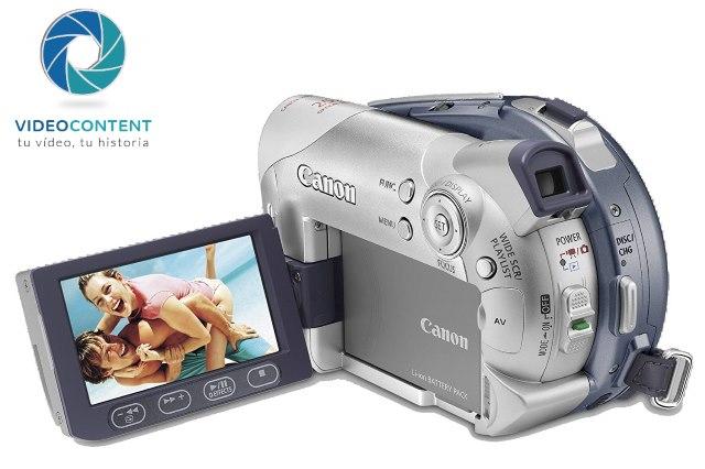 Videocámara Canon DC95