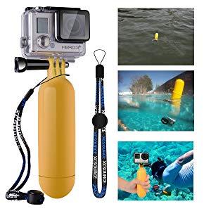 XCSOURCE OS097 - Dispositivo flotante para cámaras digitales GoPro Hero, amarillo
