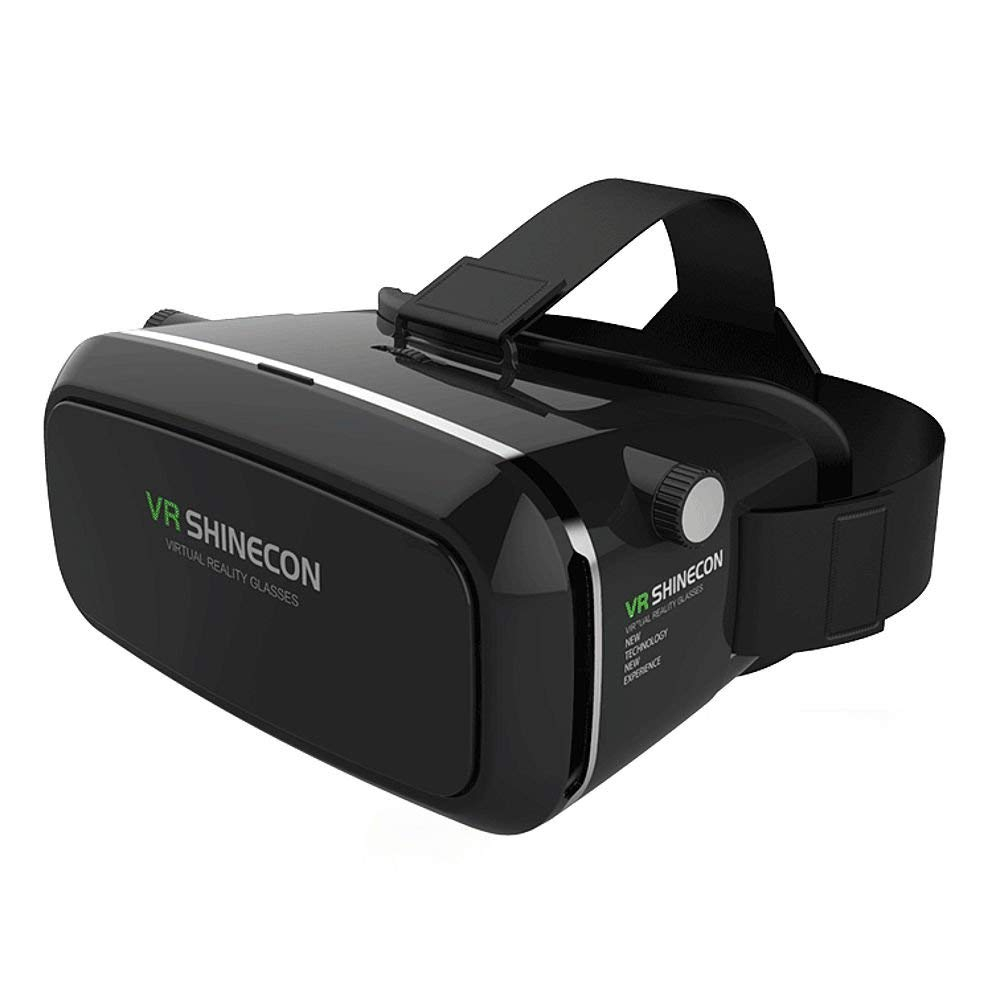 3d vr cartón vídeo Movie Game Gafas 3d vr Gafas de realidad virtual auricular 3d vr cartón con para 4 – 5,7 Inch Google, iPhone, Samsung, LG, HTC, Moto Smartphones