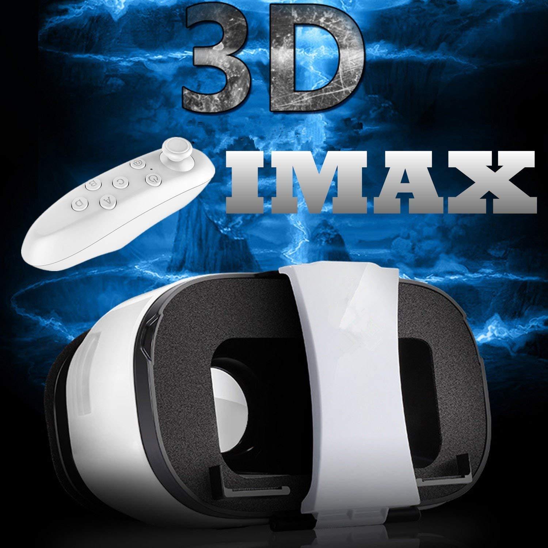 "3d VR gafas/móvil, bevifi Realidad Virtual Auriculares con control remoto para 4.0–6,5""iOS/Android iPhone 7/7Plus/6/6S Plus/se/5S, Samsung Galaxy S7Edge/S7/S6/A5/A32016, Sony LG HTC Huawei Xiaomi etc."