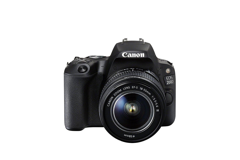 Canon EOS 200D / EOS Rebel SL2 / EOS KISS X9 18-55 / 3.5-5.6 EF-S III - Cámara digital