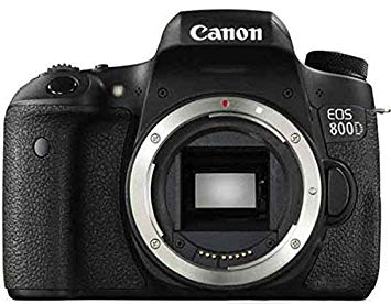 Canon EOS 800D - Cámara Réflex Digital Sólo Cuerpo - Negro