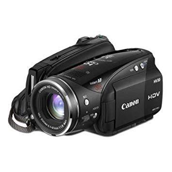 """Canon VIXIA HV30 Full HD - Videocámara (2,96 MP, CCD, 25,4/2,7 mm (1/2.7""""), 2,76 MP, 2,07 MP, 10x)"""