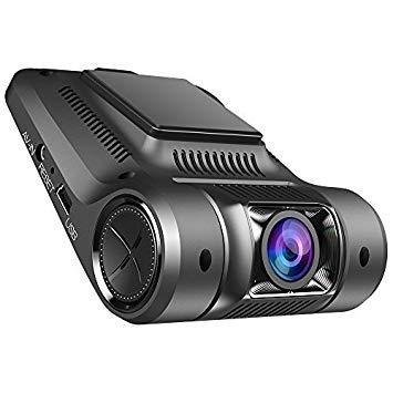 """Cámara para coche Vikcam Dash Cam Full HD 1080p 30fps Car DVR 2.45""""HD Screen 170° granangular y G-sensor y Super visión nocturna"""