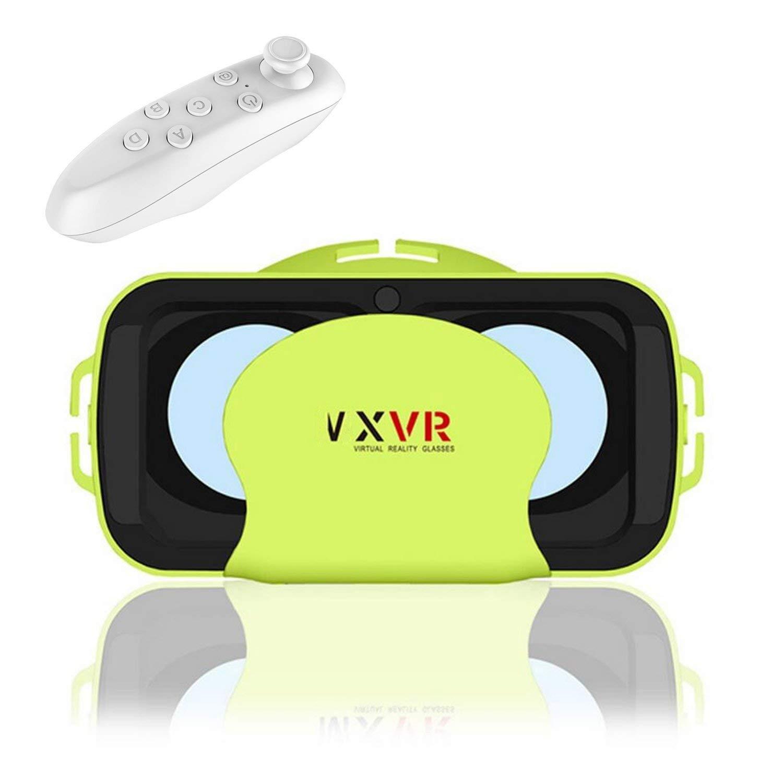 "Compacto 3d VR móvil/gafas, bevifi 3d VR Realidad Virtual Auriculares con control remoto para 4.0–6.0""iOS/Android para iphone 7/7Plus/6/6S Plus Samsung Galaxy S7Edge S7/S6/A5/A32016Sony LG Huawei etc."