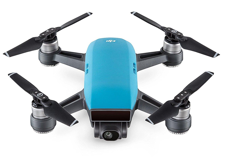 DJI Spark - Dron cuadricóptero (full hd, 12 mpx, 50 km/h, 16 minutos), Azul