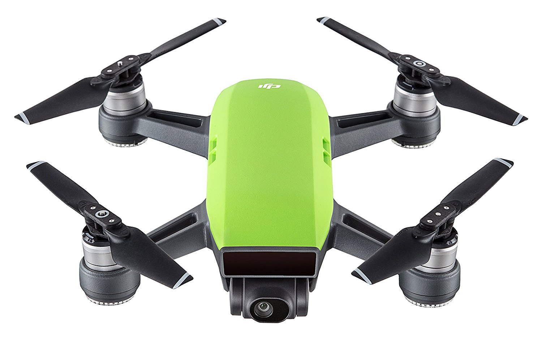 DJI Spark - Dron cuadricóptero (full hd, 12 mpx, 50 km/h, 16 minutos), Verde