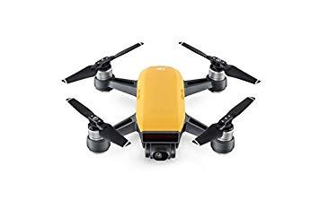 DJI Spark Fly More Combo - Dron cuadricóptero, full hd, 12 mpx, 50 km/h, 16 minutos, 6 accesorios - Color amarillo