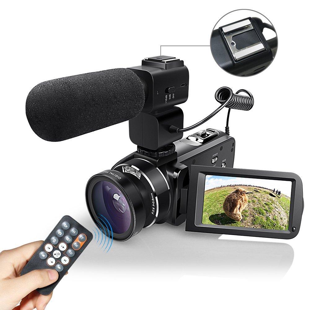 eamplest cámara videocámara digital cámara de vídeo y lente de la cámara