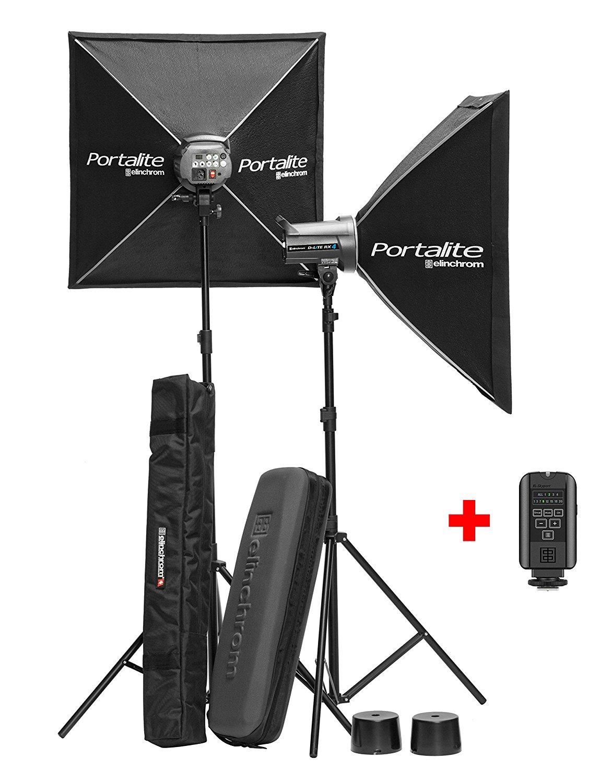 Elinchrom D-Lite RX-4 To Go - Kit de flash, 400 W